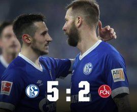 Schalke pokonało Nurnberg 5:2!